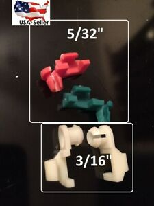 "DODGE RAM TAILGATE LATCH CLIPS 02,03,04,05 & FITS 5/32"" &  3/16"" Rod  TG4-1"