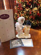 "Ashton-Drake Collection Snow Babies 1St. Edition ""Beneath The Mistletoe"" doll"