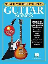 Teach Yourself to Play Guitar Songs: Smoke on the Water and 9 More Hard Rock...