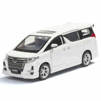 Toyota Alphard Rowen MPV 1:32 Model Car Diecast Vehicle Toy Kids Pull Back White