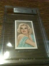 1934 Champions Stage Screen Red Backs Jean Harlow BVG BGS 9 1/1 Highest Graded