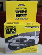 RUST-OLEUM Wipe New Car Truck Vehicle Trim Restore FIVE (5) PC Kit
