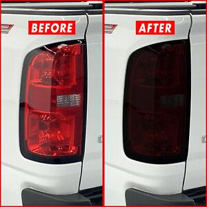 FOR 15-21 Chevy Colorado Tail Light SMOKE Precut Vinyl Tint Overlays
