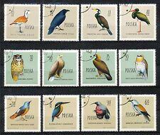 Polen 1197 - 1208 gebruikt (2) motief vogels