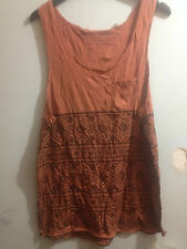 Silent Theory Tank Top Sz Large Post (d89)