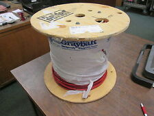 Belden 18 AWG 9-Conductor Plenum Cable 83659 002 Red Belfoil Shielded *500 ft*