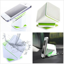 360 Degree Car SUV Rotatable Free Magic GPS Cell Phone Pad Green Support Holder