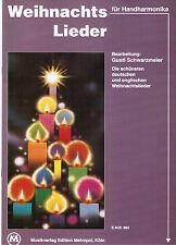 diat. diatonische Handharmonika Noten : Weihnachtslieder leichte Mittelstufe