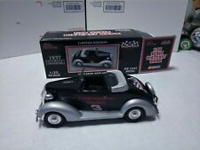 1:25 Racing Champions Dale Earnhardt #3 1937 Chevy Convertible BANK
