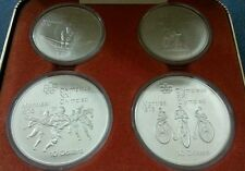 Willie: Canada 1976 Winter Olympic proof set 4 coins silver