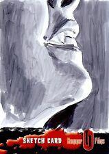 Hammer Horror Series 2 Sketch Card drawn by Chris Henderson /8
