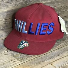 Philadelphia Phillies Hat Size 7 1/2 Cooperstown Collection Red Blue