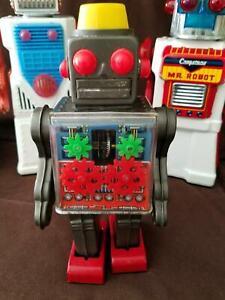 VINTAGE Horikawa Engine Robot or Gear Robot WORKING