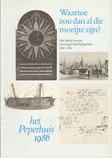 HET BEDRIJF VAN EEN GRONINGER KOFSCHIPKAPITEIN (PEPERHUIS 1986)