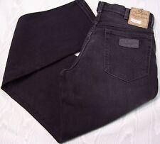 WRANGLER jeans NERO Texas Stretch Black Tg. da 31 a 40