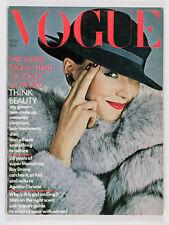 UK Vogue NORMAN PARKINSON Daliah Lavi AGATHA CHRISTIE Susan Moncur PABLO & DELIA