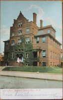 1907 NY Postcard: Ellis Hospital- Schenectady, New York