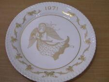 Spode Christmas Plate 1971 Angel Gloria Hosanna