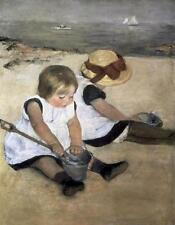 "Mary Cassatt ""Children on the Beach""open edition print,"