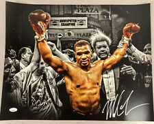 Mike Tyson Signed Photo 16x20 Autograph Boxing HOF JSA COA