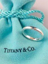 Tiffany & Co. Elsa Peretti Band Ring w/ Sapphire Size 4.5