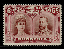 RHODESIA EDVII SG145, 6d brown and purple, M MINT. Cat £65.