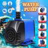 600L/H - 3000L/H Submersible Water Pump Fish Tank Pond Aquarium Fountain