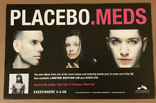 PLACEBO Rare 2006 USA PROMO POSTER THICK STOCK Paper for MEDS CD 17 x 11 MINT