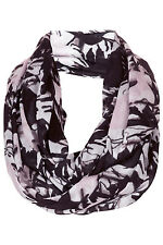TOPSHOP  snood scarf .black/grey/pink  Brand new WITH TAGS