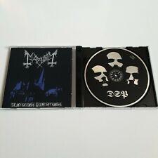 MAYHEM DE MYSTERIIS DOM SATHANAS CD DEATHLIKE SILENCE DSP ANTI-MOSH 006 NORWAY