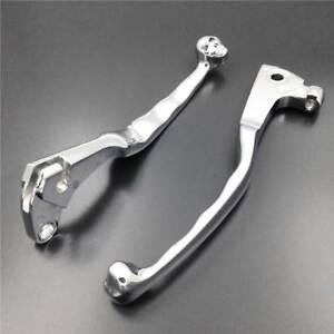 Chrome Brake Clutch Skull Lever For 2008-2011 2010 Yamaha V-Star 250 XV250 STAR