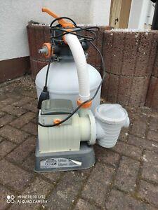 Bestway Sandfilterpumpe mit neuer Pumpe