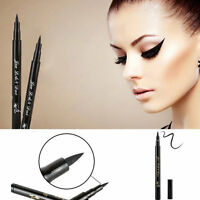 Black Waterproof Eyeliner Liquid Eye Liner Pen Pencil Makeup Beauty Cosmetic L7S