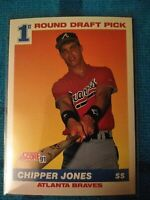 1991 Score Chipper Jones Atlanta Braves #671 Baseball Card. ROOKIE