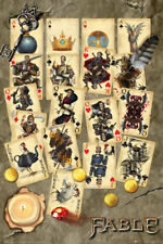 Fable Playing Cards Maxi Poster 61x91.5cm FP3943 Cast and Characters