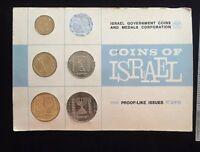 Israel Coins Proof-Like Set 1965 Collection