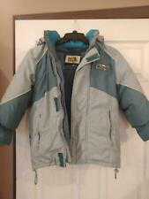 boys snowsuit jacket down winter weatherproof snow pants size 7/8