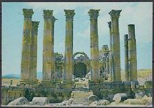 Jordanien Jordan used Post Card Postkarte Temple of Artemis Jarash [cm533]