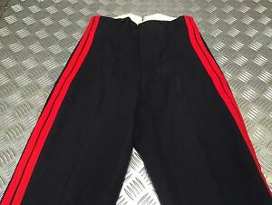 Genuine British Army Vintage 1966 No1 Issue RMAS Officer Dress Trousers WD?