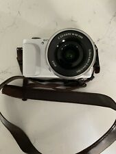Sony Alpha NEX-3N Digital Camera - White, USED - With Case and Strap