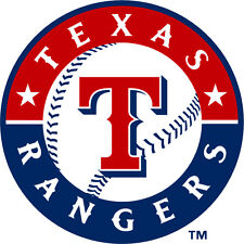 Texas Rangers MLB Color Die-Cut Decal / Car Sticker *Free Shipping