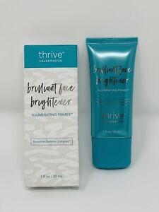 Thrive Causemetics Brilliant Face Brightener Illuminating Primer Full Size 1 oz.