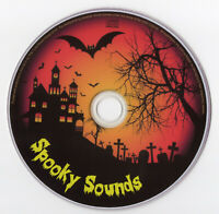 SPOOKY SOUNDS CD SOUNDTRACK HALLOWEEN PARTY SCARY MUSIC KIDS TRICK OR TREAT MASK