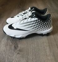Nike Vapor Ultrafly 2 Keystone Youth Baseball Cleats White Black Youth 6Y