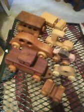 8 Handmade Wooden Toys on Wheels