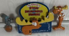 The Adventures Of Rocky and Bullwinkle Refrigerator Magnet W/Rocky & Bullwinkle