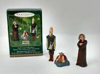 Hallmark Keepsake Miniature Ornaments Star Wars Jedi Council Members 3 Piece