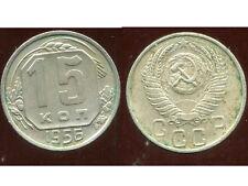 RUSSIE   15  kopek   1956