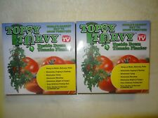 Topsy Turvy upside down tomato planter, 2 pack, new condition