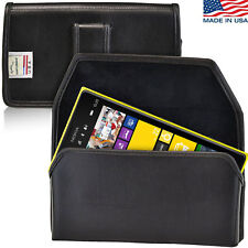 Nokia Lumia Holster Black Belt Clip Case Pouch Leather Turtleback